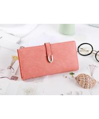 USUPSO  กระเป๋าเงินผู้หญิง  - สีส้ม