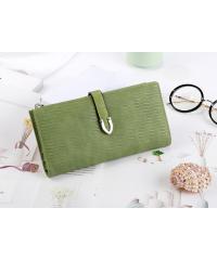 USUPSO USUPSO กระเป๋าเงินผู้หญิง สีเขียว -