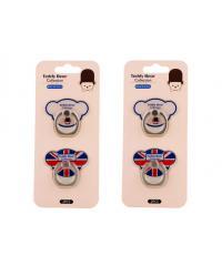 USUPSO  พวงกุญแจ สำหรับติดโทรศัพท์ Teddy collection (bear head) -