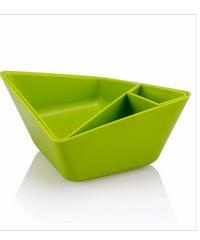UCHI จานขนม A0233-GN เขียว