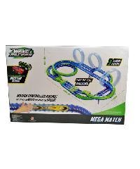 SanookToys Toys ชุดรางรถ Mega Match Raceway  YW211135 สีฟ้า