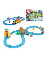SanookToys Toys Thomas & Friends ชุด Figure 8 drawbridge  BGL97 สีฟ้ำ