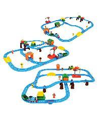 SanookToys Toys Thomas & Friends ชุด Busy day on sodor  CGW29 สีฟ้ำ