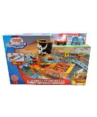 SanookToys Toys Thomas & Friends ชุด Thomas shipwreck adventure  CDV11 สีฟ้ำ