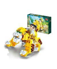 SanookToys Toys Banbao บล็อกตัวต่อชุดเล็ก  6611 สีเหลือง