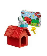 SanookToys Toys Banbao บล็อกตัวต่อชุดเล็ก (Dog) 7508 สีแดง