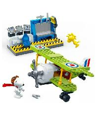 SanookToys Toys Banbao ชุดบล็อกตัวต่อ (Airbase)  7522 สีเขียว
