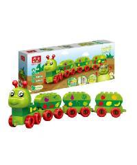 SanookToys Toys Banbao บล็อกตัวต่อชุดใหญ่  9101 สีเขียว