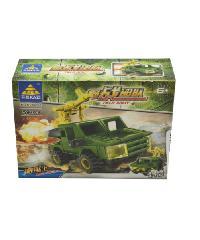 SanookToys Toys ชุด Field force  84035#1-8 สีเขียว