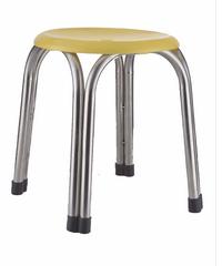 Sane เก้าอี้สแตนเลส 4 ขา CHY 25 สีเหลือง