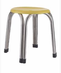 Sane เก้าอี้สแตนเลสสี่ขา  CHY 30 สีเหลือง