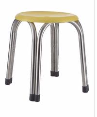 Sane เก้าอี้สแตนเลส  4 ขา CHY 47 สีเหลือง