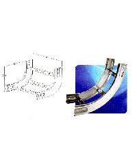 LEENA โค้งขึ้นเคเบิ้ลแลดเดอร์ 300x100 mm. ชุบ HDG Hot-Dip