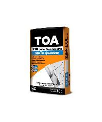TOA ทีโอเอ 110 สกิมโค้ท ปูนฉาบบาง 20 กก #WHITE -