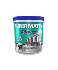 TOA Supermatex ซุปเปอร์เมเทค แอดวานซ์ สีน้ำด้าน ภายใน เบส 9 ลิตร #000C SUPERMATEX ADVANCE สีขาว