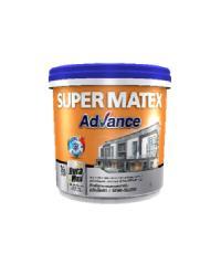 TOA Supermatex ซุปเปอร์เมเทค แอดวานซ์ สีน้ำกึ่งเงา ภายนอก เบส 1 กล #000C SUPERMATEX ADVANCE สีขาว