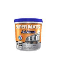 TOA Supermatex ซุปเปอร์เมเทค แอดวานซ์ สีน้ำกึ่งเงา ภายนอก เบส 9 ลิตร #000A SUPERMATEX ADVANCE สีขาว