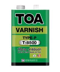 TOA น้ำมันวานิชดำ   T-8500กล.