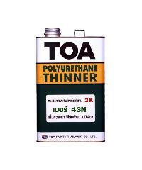 TOA ทินเนอร์โพลียูรีเทรนชนิด2ส่วน เบอร์ 43N