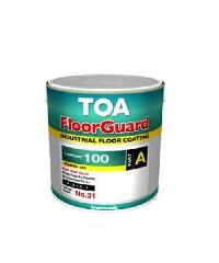 TOA HG ฟลอร์การ์ด100 สีทาพื้นอีพ๊อกซี่ ส่วนเอ 1 กล.  0500