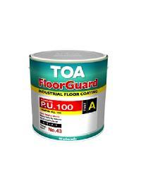 TOA HDC ฟลอร์การ์ด พียู 100 สีทับหน้า ส่วนเอ 1 กล  1001