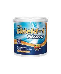 TOA Shield-1 Nano สีน้ำภายนอกซิลิโคนกึ่งเงา ขนาด 5GL ES507