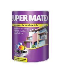 TOA Supermatex สีรองพื้นปูนเก่า ขนาด 5กล.  ซุปเปอร์เมเทค