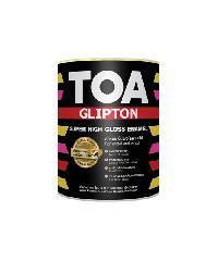 TOA ทีโอเอ กลิปตั้น สีเคลือบกึ่งเงา เบส 1/4 กล #000A -