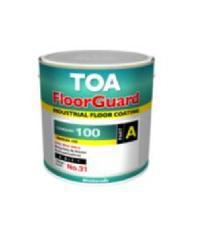 TOA HDC ฟลอร์การ์ด 100 สีทับหน้า ส่วนเอ 1 กล #1014 HDC FLOORGUARD 100