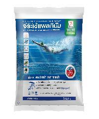 จระเข้ ยาแนวจระเข้ แพลทินัม ไทล์เกร้าท์ สีขาวไข่มุก 1 kg กาวยาแนวมาตรฐานอเมริกาสำหรับสระว่ายน้ำ สปา ซาวน่า สีขาว