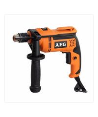 AEG สว่านกระแทก 500 w. SB 500 RE ส้ม-ดำ