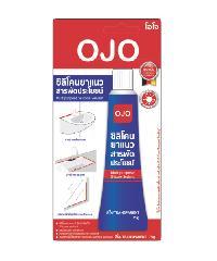 OJO โอโจ ซิลิโคนยาแนวสารพัดประโยชน์  สีขาว -