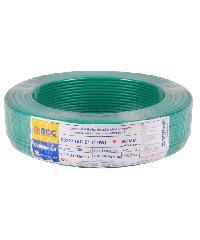 BCC BCC สายไฟฟ้า 60227  1x16 450/750V 100 เมตร  IEC01 (THW) สีเขียว