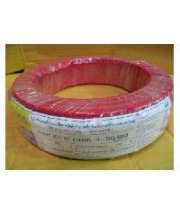 BCC 60227 IEC 01 (THW) 4 สีแดง (C30 เมตร) 450/750V THW สีแดง