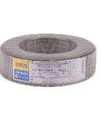BCC สายไฟทองแดง IEC 01 4 (50ม) THW สีเทา