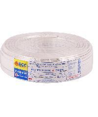 BCC สายไฟทองแดง  IEC 01 (THW) 4 สีขาว(50ม)