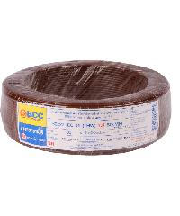 BCC สายไฟฟ้า IEC 01 1X1.5 สีน้ำตาล (100 ม.) THW