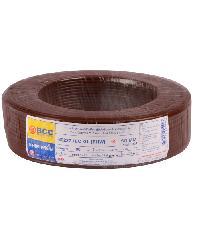 BCC สายทองแดง IEC 01 10 (100ม) THW สีน้ำตาลเข้ม