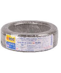 BCC สายไฟฟ้า IEC 01 (THW) 1X1.5 สีเทา (100 ม.) BCC THW สีเทา
