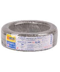BCC สายไฟทองแดง IEC 01 1.5 (50ม) THW สีเทา