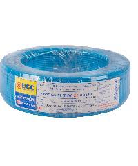 BCC สายไฟทองแดง  IEC 01 (THW) 2.5 สีฟ้า(50ม)