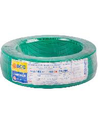 BCC สายไฟทองแดง IEC 01  2.5 (50ม) THW สีเขียว