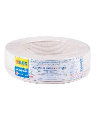 BCC สายไฟฟ้า IEC 01 1X2.5 (50ม.)  THW สีขาว