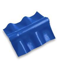 ห้าห่วง ครอบปรับมุมลอนคู่ สีฟ้ารุ่งอรุณ   ตัวล่าง