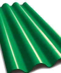 ห้าห่วง กระเบื้องไตรลอน สีเขียวมุกแพทตินั่ม