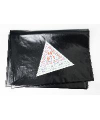 MPI พลาสติกปูบ่อ  2x3ม. สีดำ