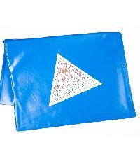 MPI พลาสติกปูบ่อ  2x3ม.  สีน้ำเงิน