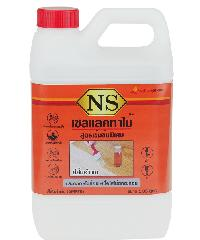 NORTHERNSHELLAC เชลแลคทาไม้ NS สีส้มอำพัน 1.85 ลิตร สูตรเข้มข้นพิเศษ สีส้ม
