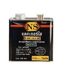 NORTHERNSHELLAC แลคเกอร์ชนิดด้าน 80% 1.85 ลิตร สีทับหน้า สีดำ