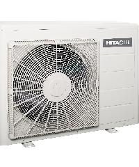 HITACHI เครื่องปรับอากาศ  คอยส์ร้อน RAC-EH24CKT สีขาว
